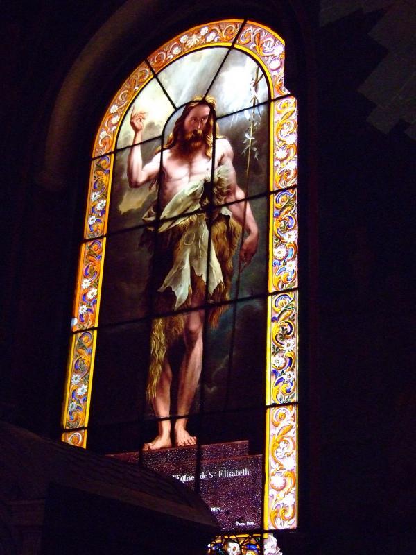 Vitraux de St Elisabeth à Paris 3ème