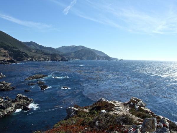 Big Sur la Côte de Californie