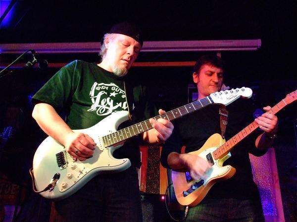 Fred et Stan sur scène
