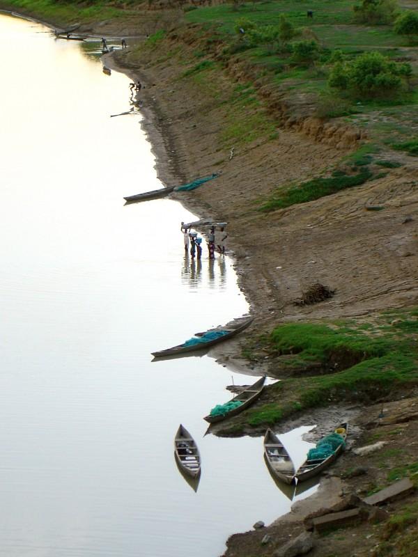 Pêcheurs sur la White Volta