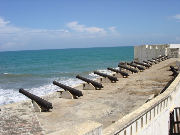 Castle Cape Coast au Ghana