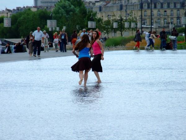 Elles marchaient sur l'eau