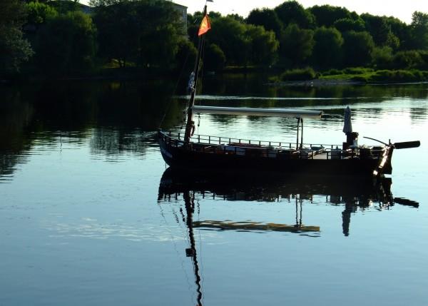 Les Gabares sur la Dordogne